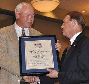Ben Foster Receiving Award