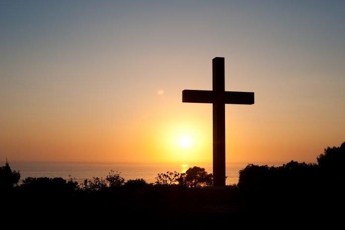 Cross at Dusk