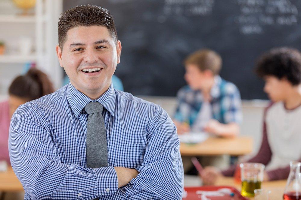 high school chemistry teacher