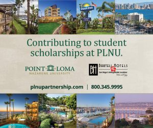 Bartell Hotels helps contribute to scholarships at PLNU