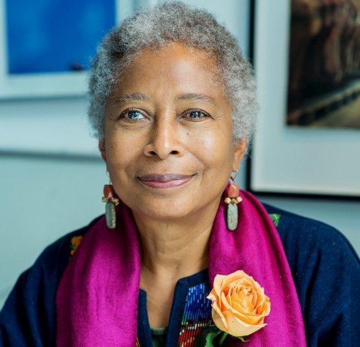 Headshot photo of Alice Walker