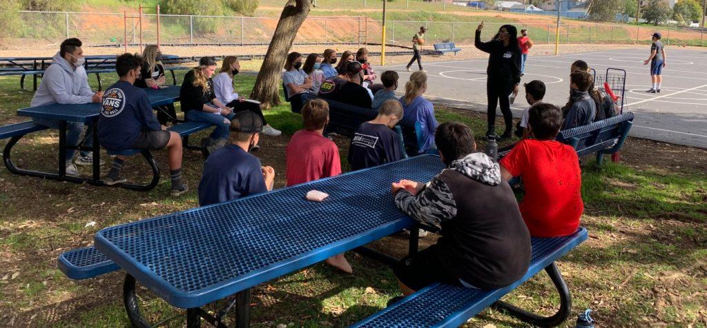Luma Haddad mentors youth in South Bay San Diego